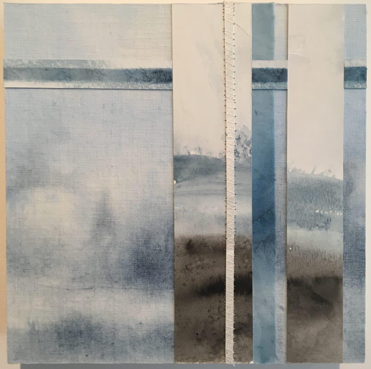 Across the Sound Towards Mayne by Susan Purney Mark