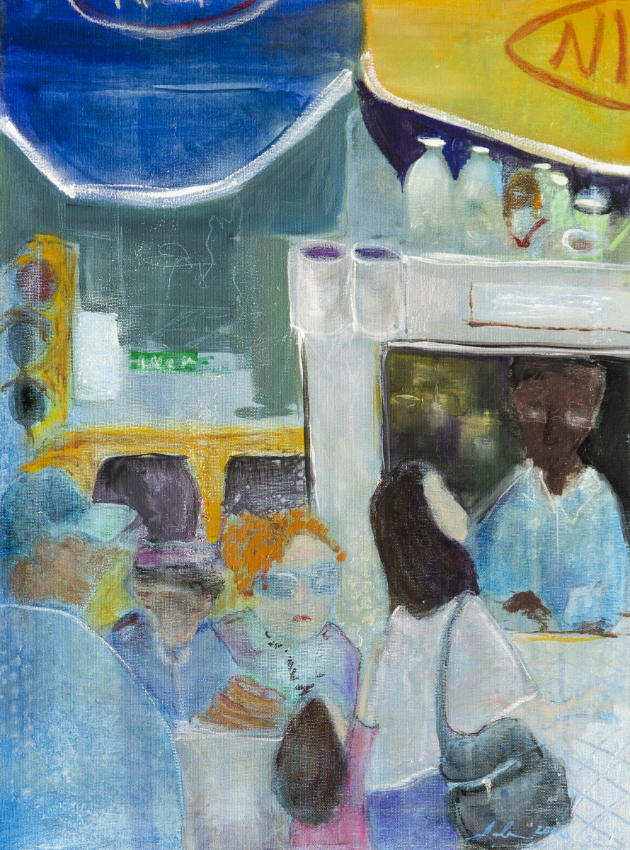 7d3a5bf7f Hot Dog Please (Triptych a) by Leela Payne | Artwork Archive
