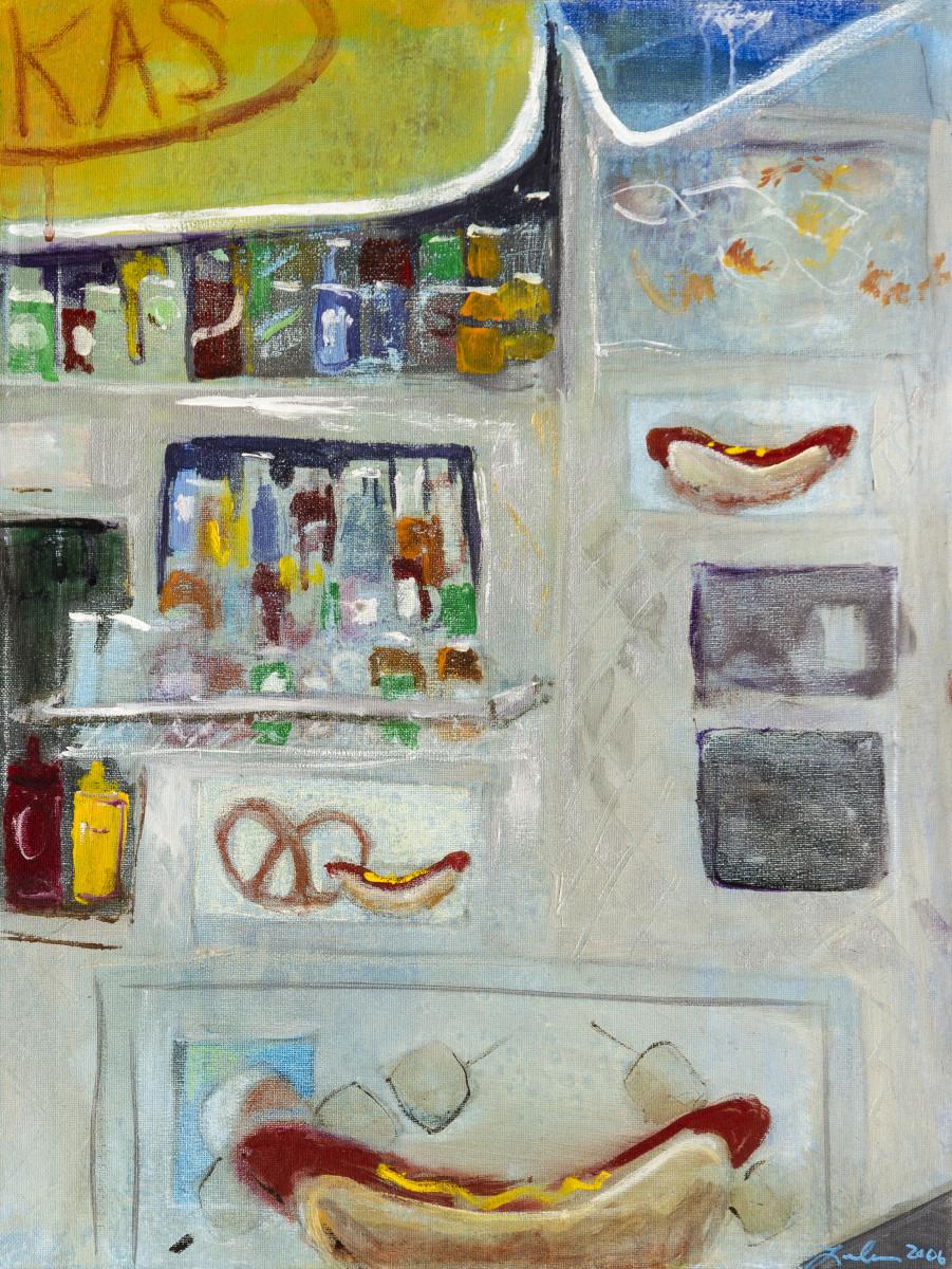 cea505b71 Hot Dog Please (Triptych b) by Leela Payne | Artwork Archive