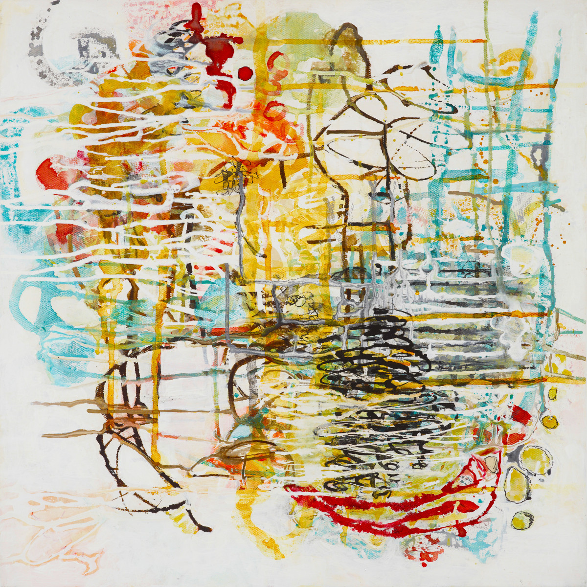 Tangled Mapping.4 by Barbara Fisher