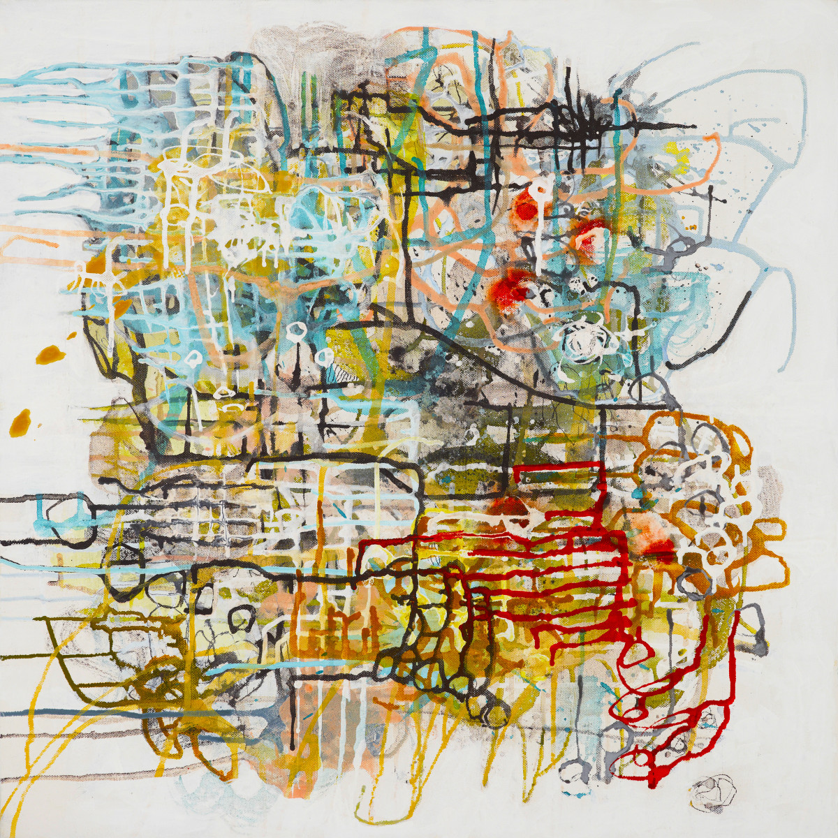 Tangled Mapping.5 by Barbara Fisher