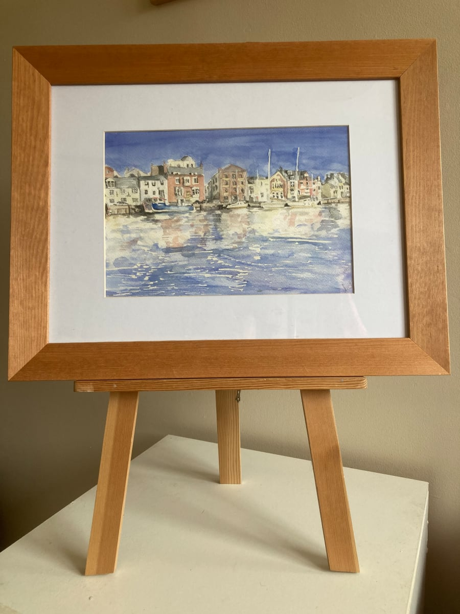 Weymouth by Ally Tate  Image: Frame is  for display only, artwork will be mounted and unframed