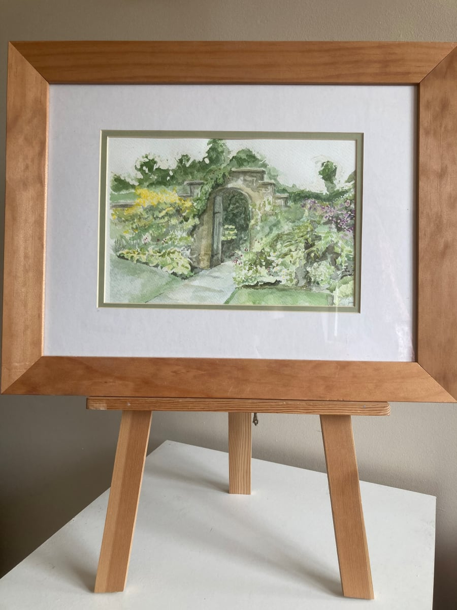 Lytes Cary Manor - Door way by Ally Tate  Image: Frame for display only, picture will be mounted and unframed