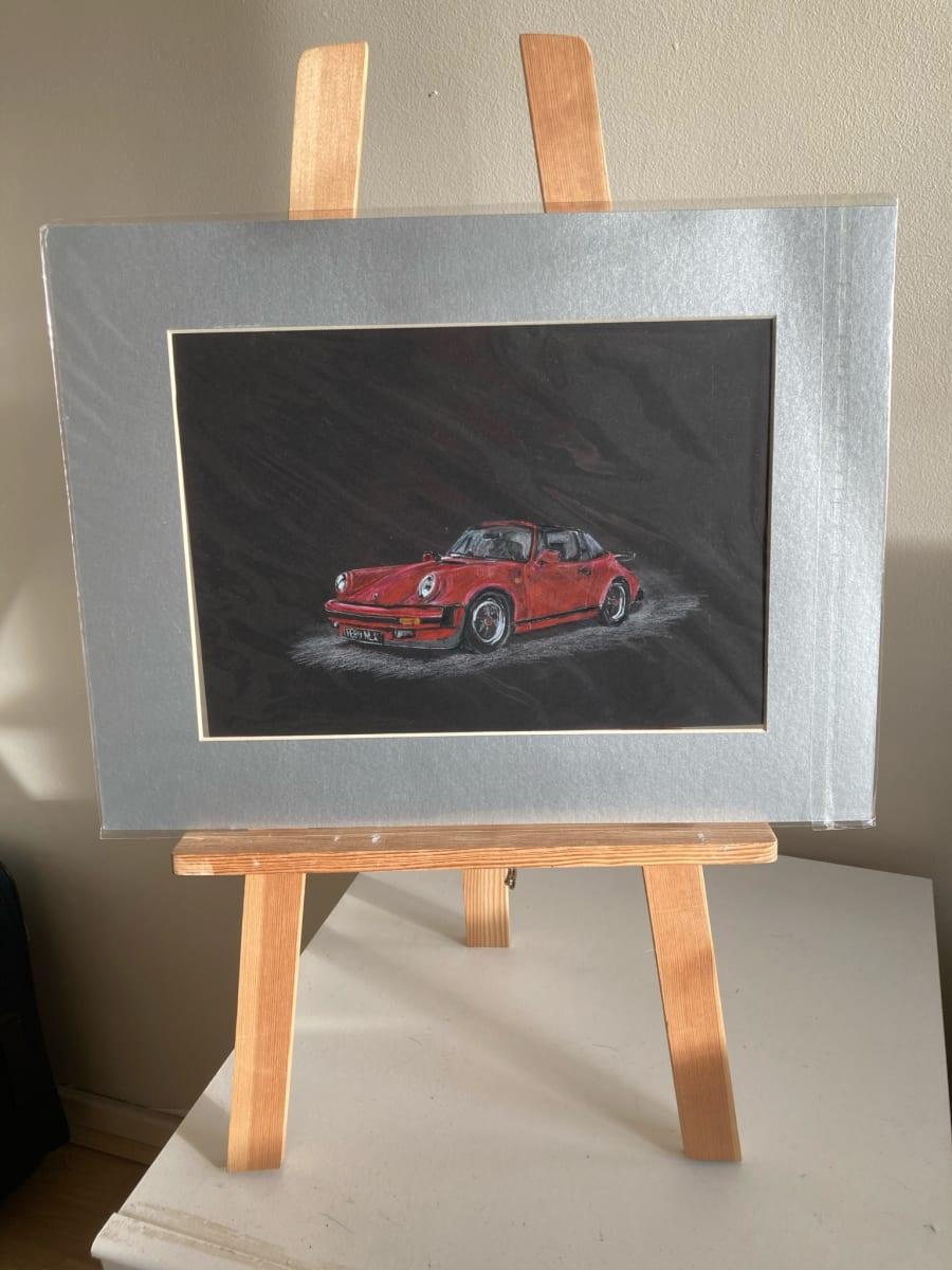 Porsche Pencil by Ally Tate