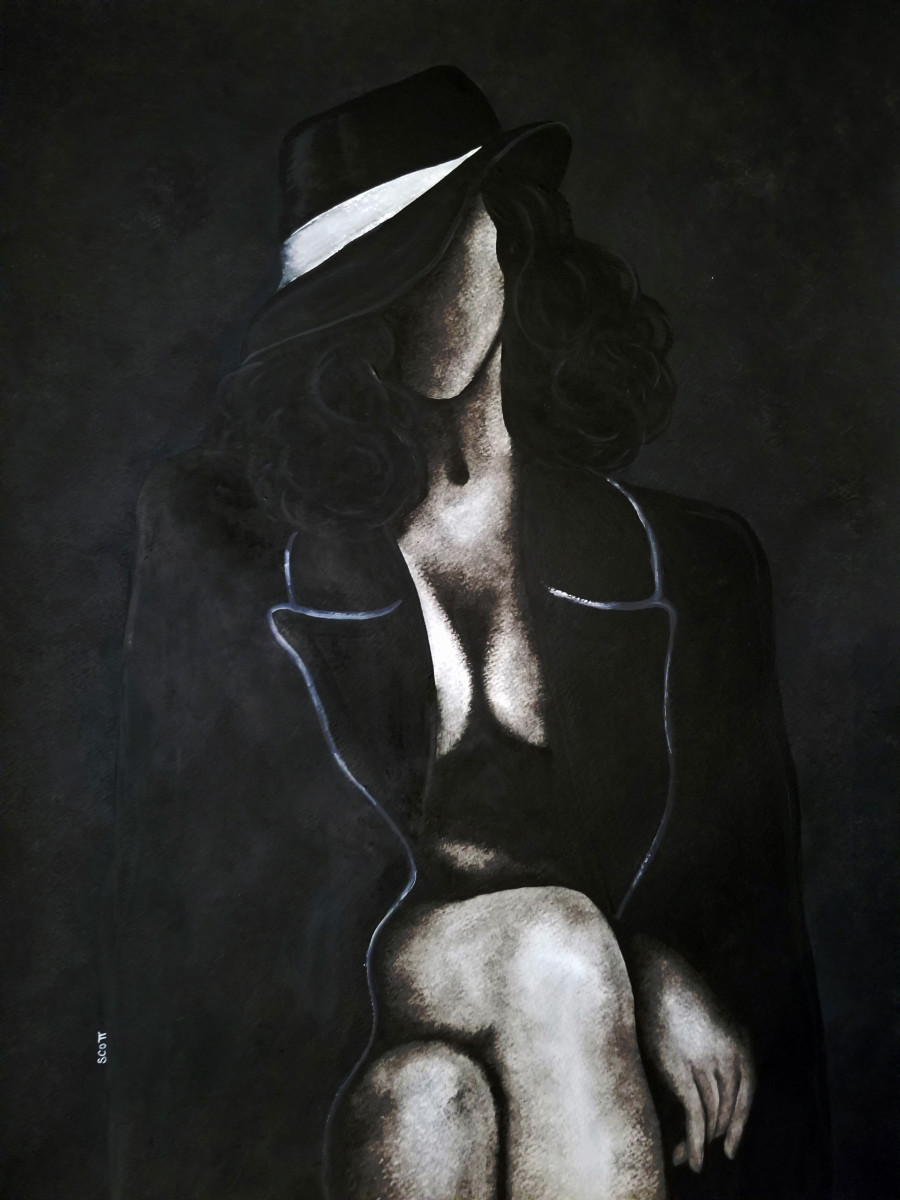 Image result for femme fatale painting