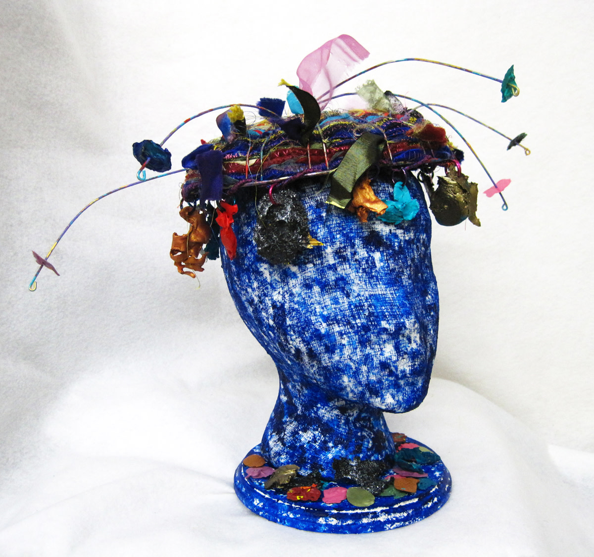 And Visions of Paint Chips Danced Through Her Head by Barbetta Lockart