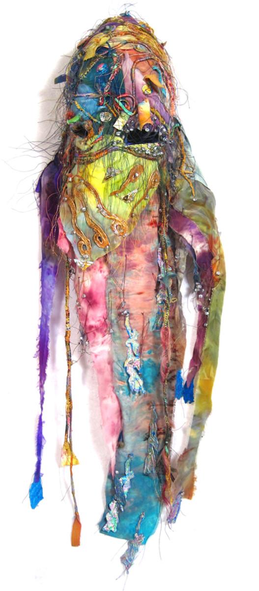 Mask For Sarasvati by Barbetta Lockart