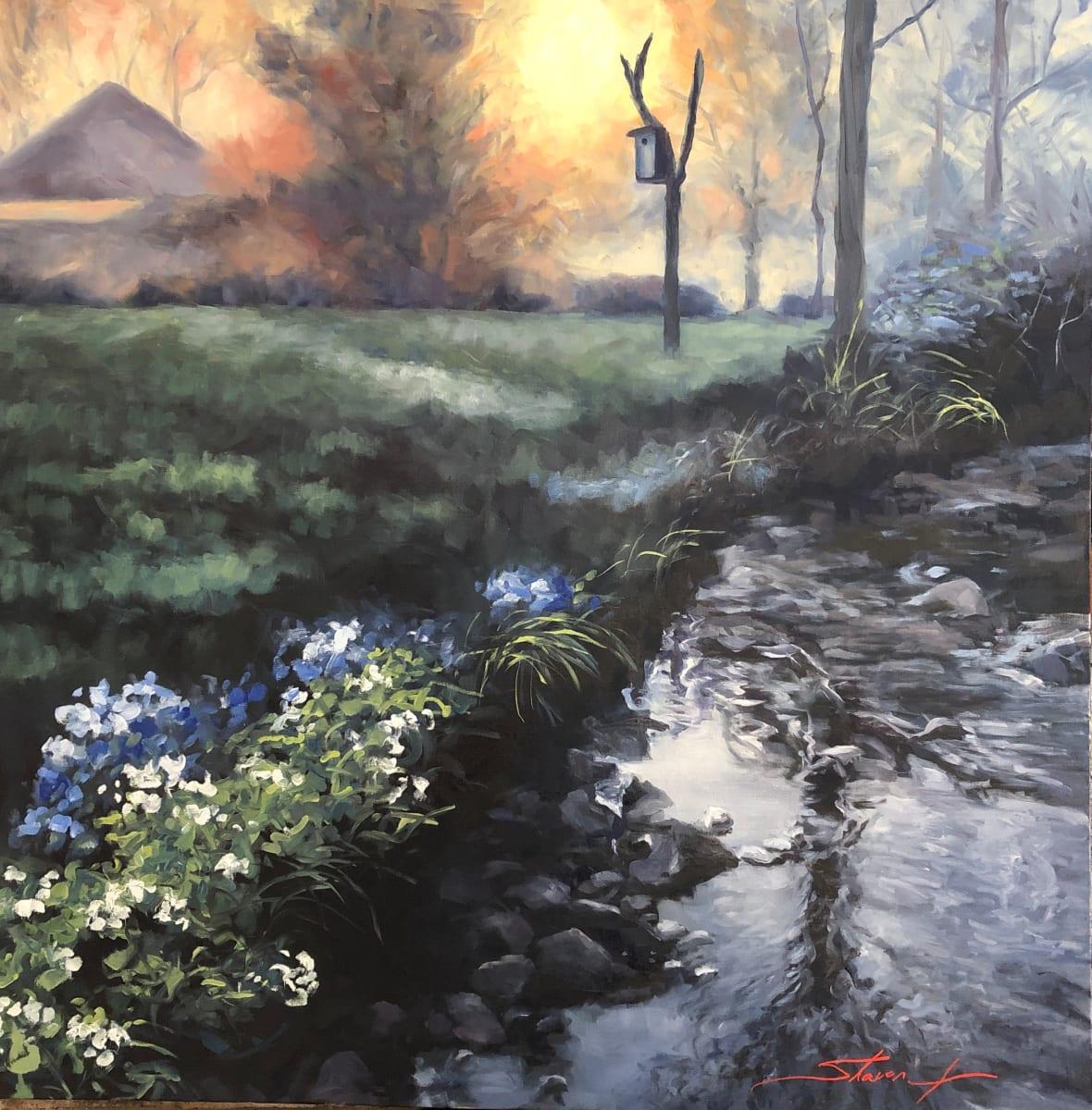 Dawn Glow by Sharon Rusch Shaver