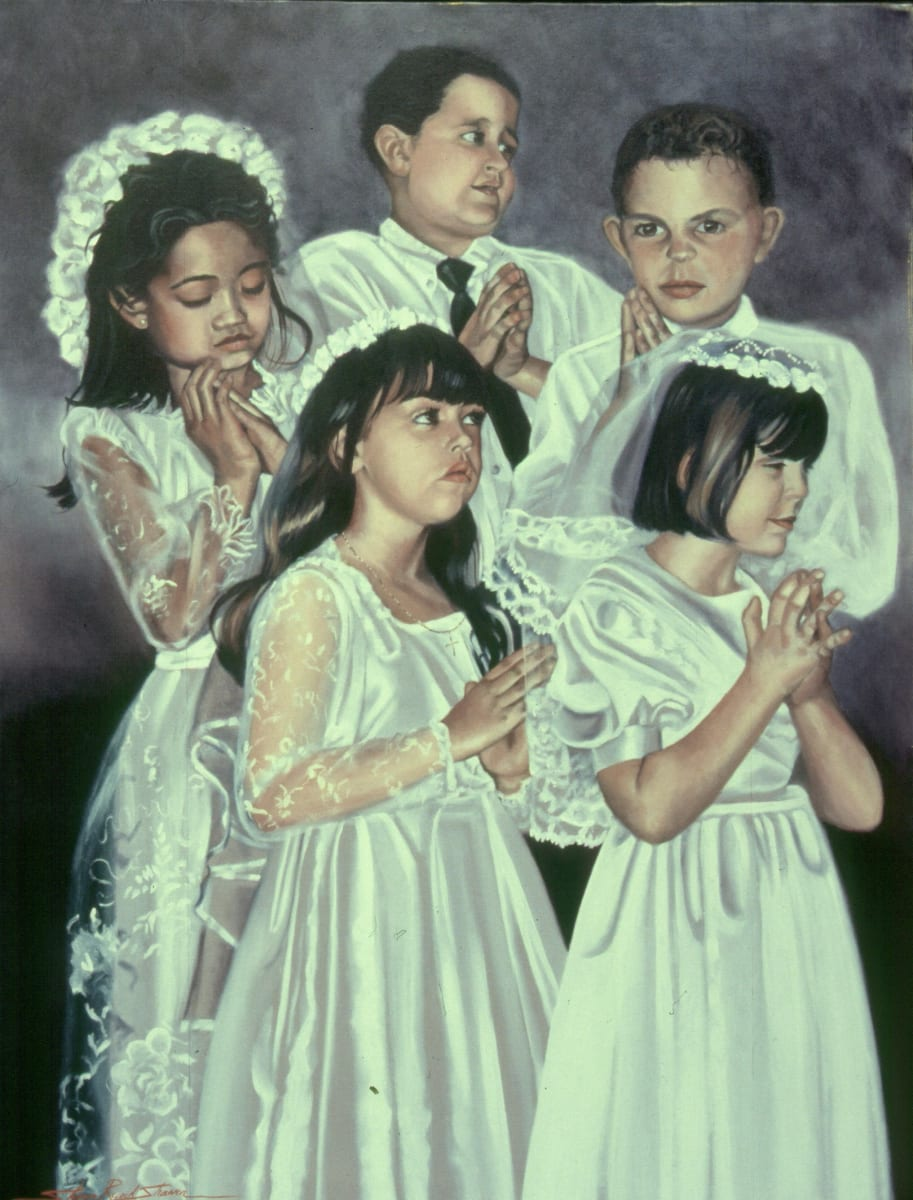 First Communion by Sharon Rusch Shaver