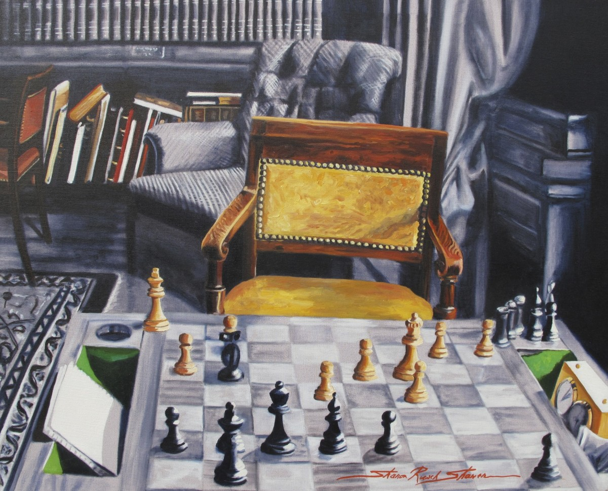 Chess by Sharon Rusch Shaver