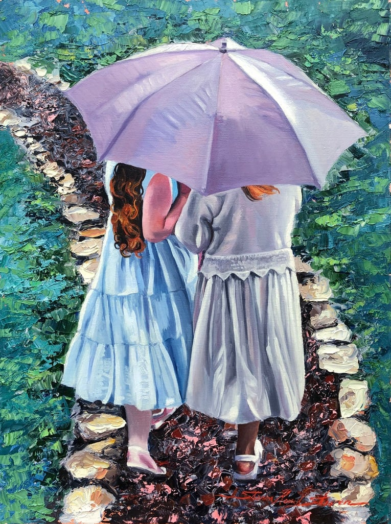 May Rain by Sharon Rusch Shaver