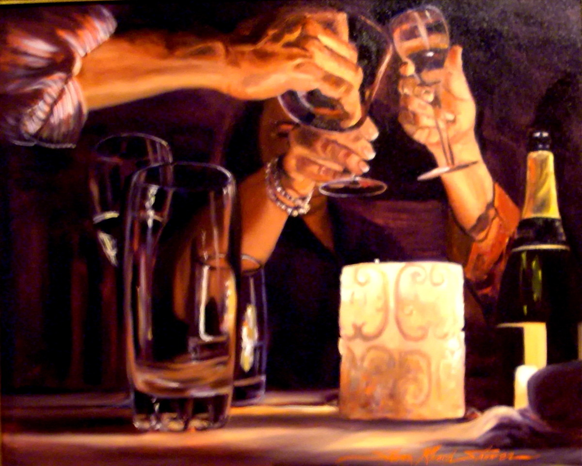 The Toast by Sharon Rusch Shaver