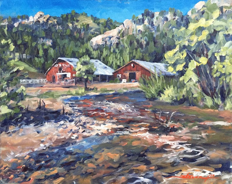 Estes Park  by Sharon Rusch Shaver