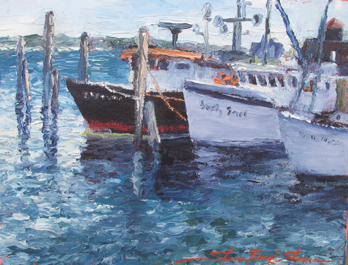 Harbor by Sharon Rusch Shaver