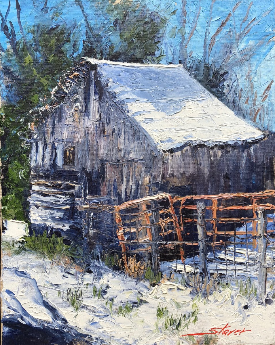Winter Melting by Sharon Rusch Shaver