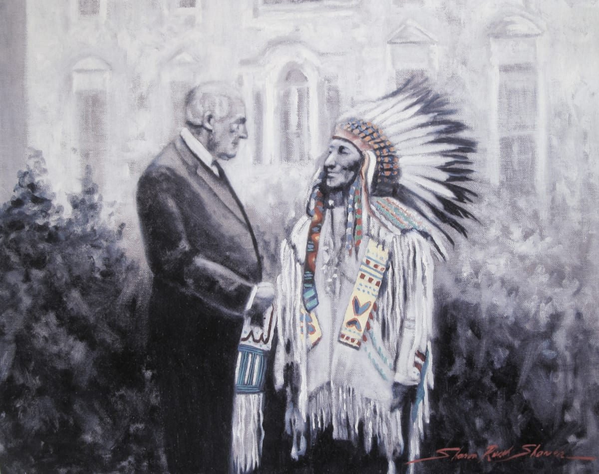 The American Visitor by Sharon Rusch Shaver