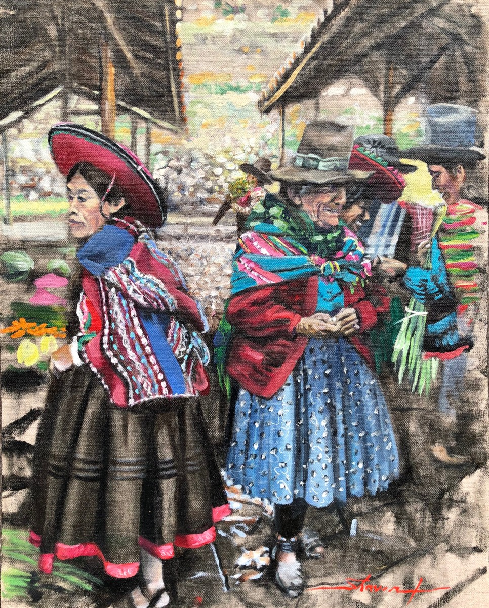 Chincherro Market by Sharon Rusch Shaver