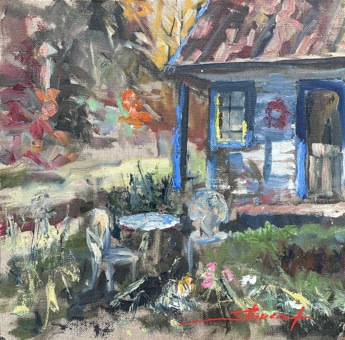 Plein Summer Late by Sharon Rusch Shaver