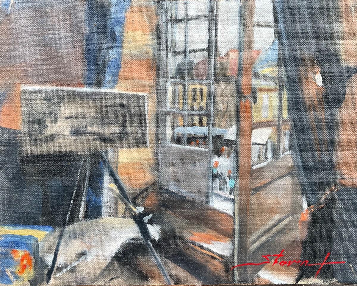 Studio Sarlat Sketch by Sharon Rusch Shaver