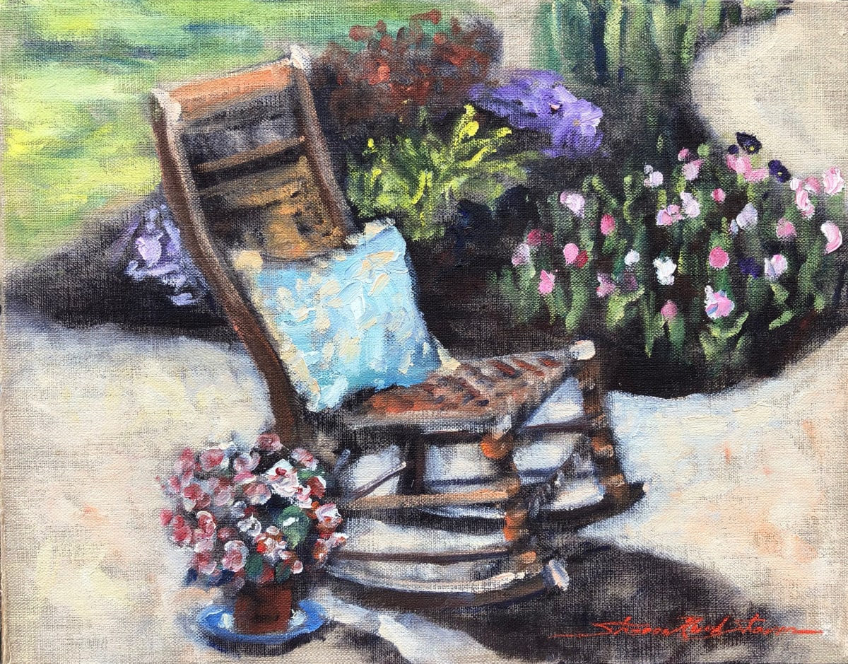 Garden Chair by Sharon Rusch Shaver