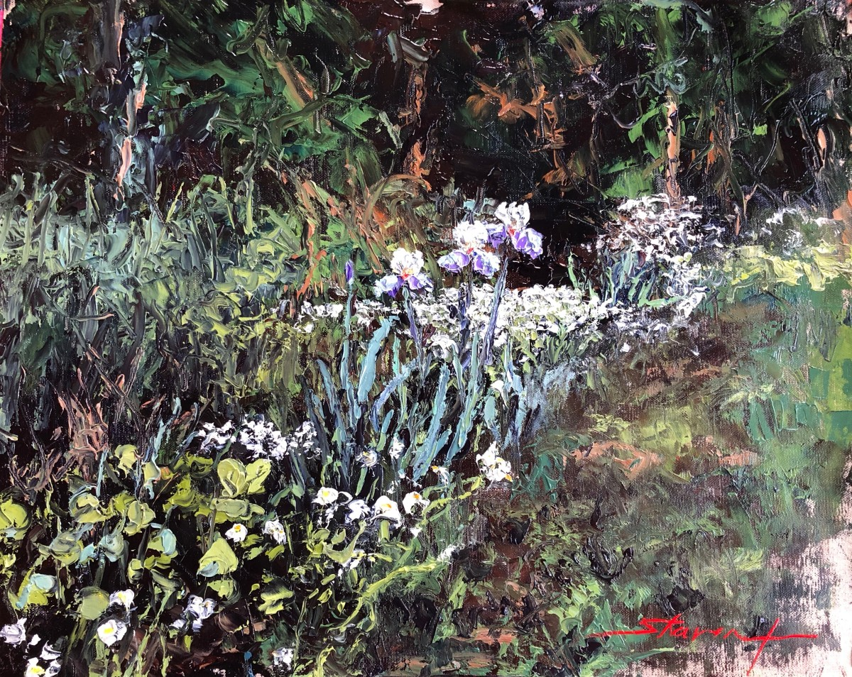 Spring Iris by Sharon Rusch Shaver