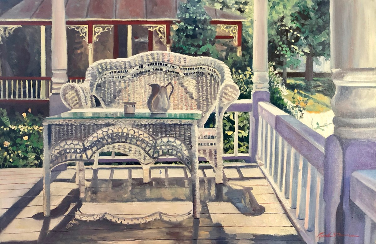 Maggies Porch by Sharon Rusch Shaver