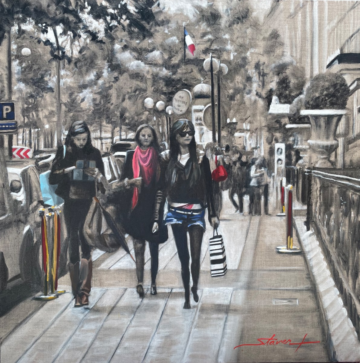 Last Day in Paris by Sharon Rusch Shaver