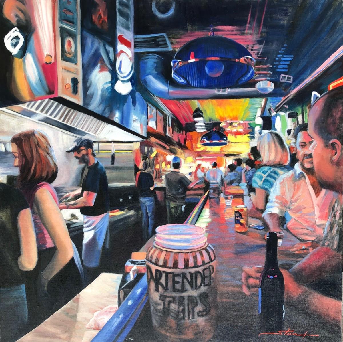 Nashville, Honky Tonk by Sharon Rusch Shaver