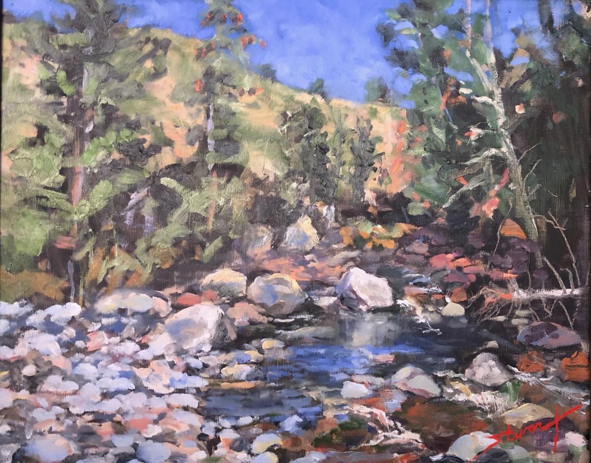 Plein Lost in Colorado by Sharon Rusch Shaver