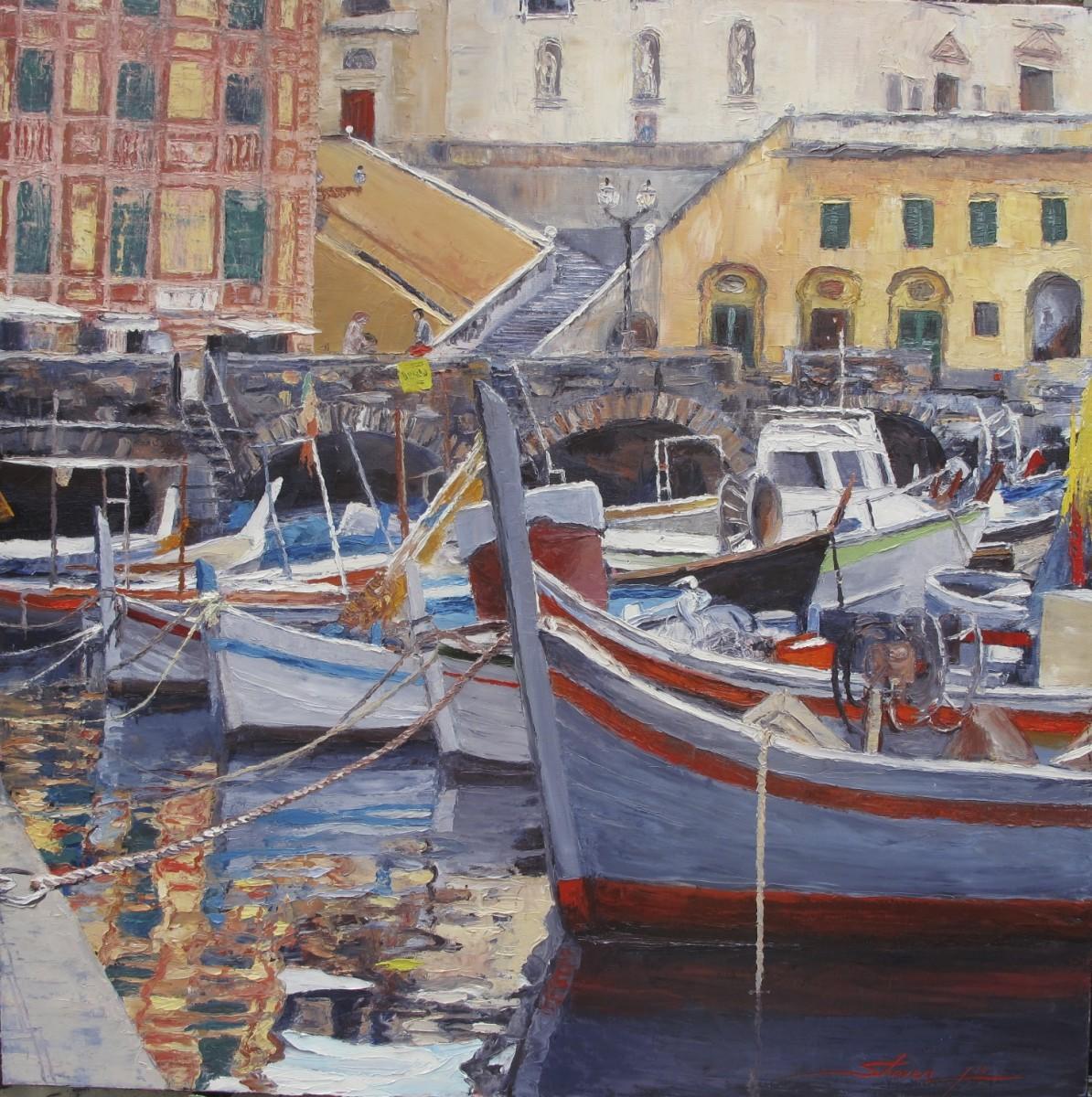Cinque Terre by Sharon Rusch Shaver