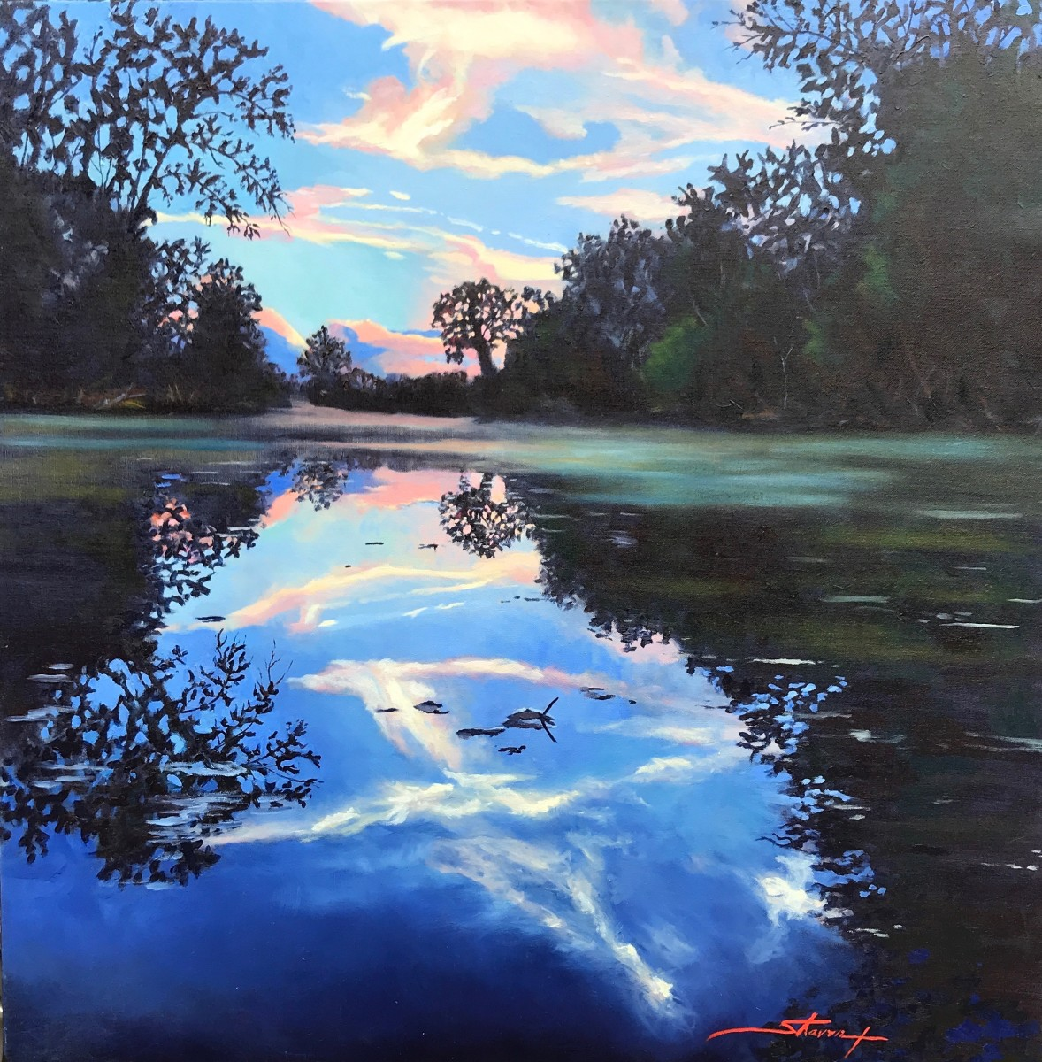 Bledsoe Evening by Sharon Rusch Shaver