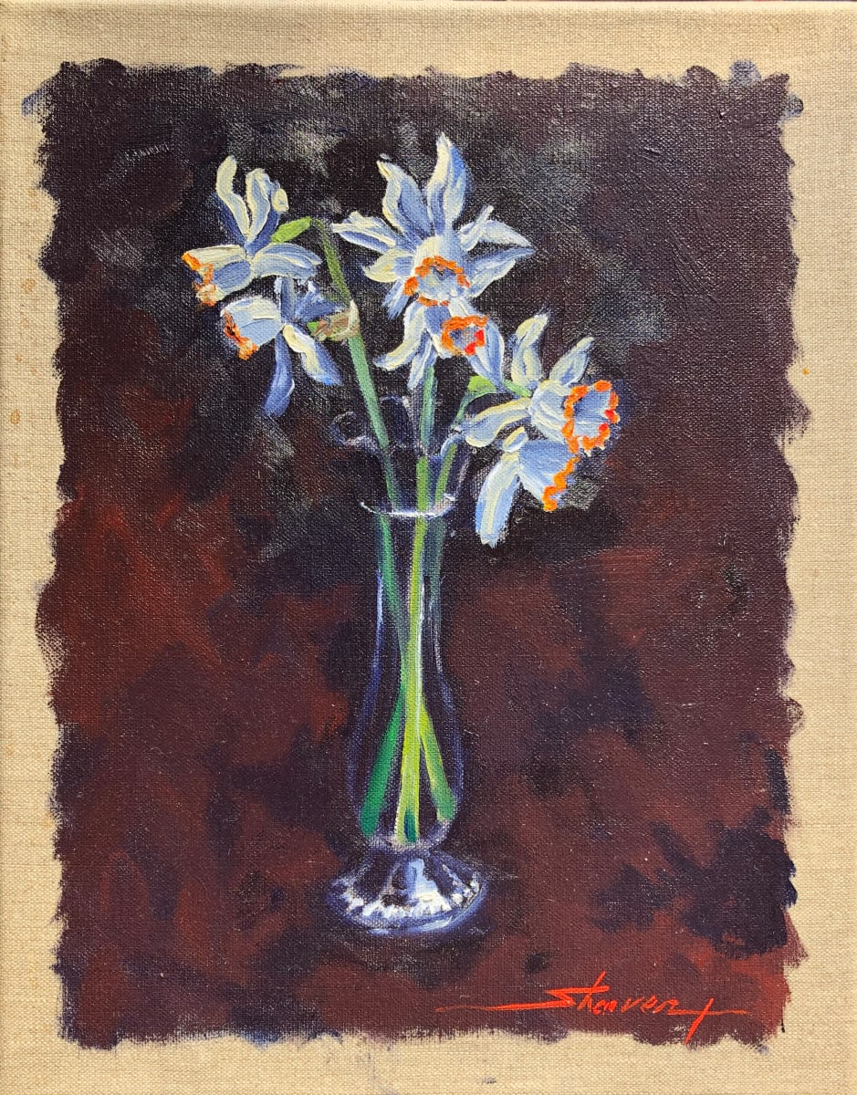 Daffodils by Sharon Rusch Shaver