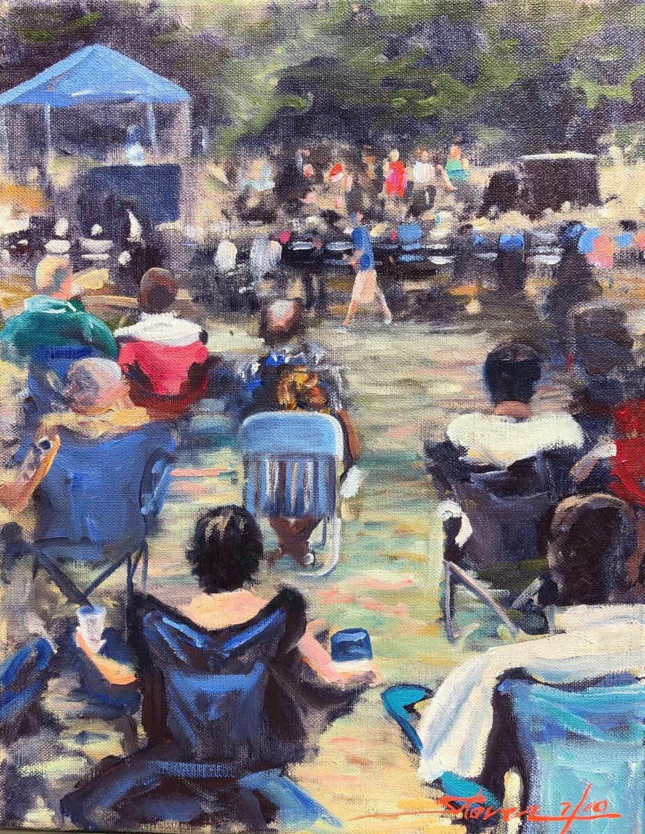 Plein Outdoor Festival by Sharon Rusch Shaver