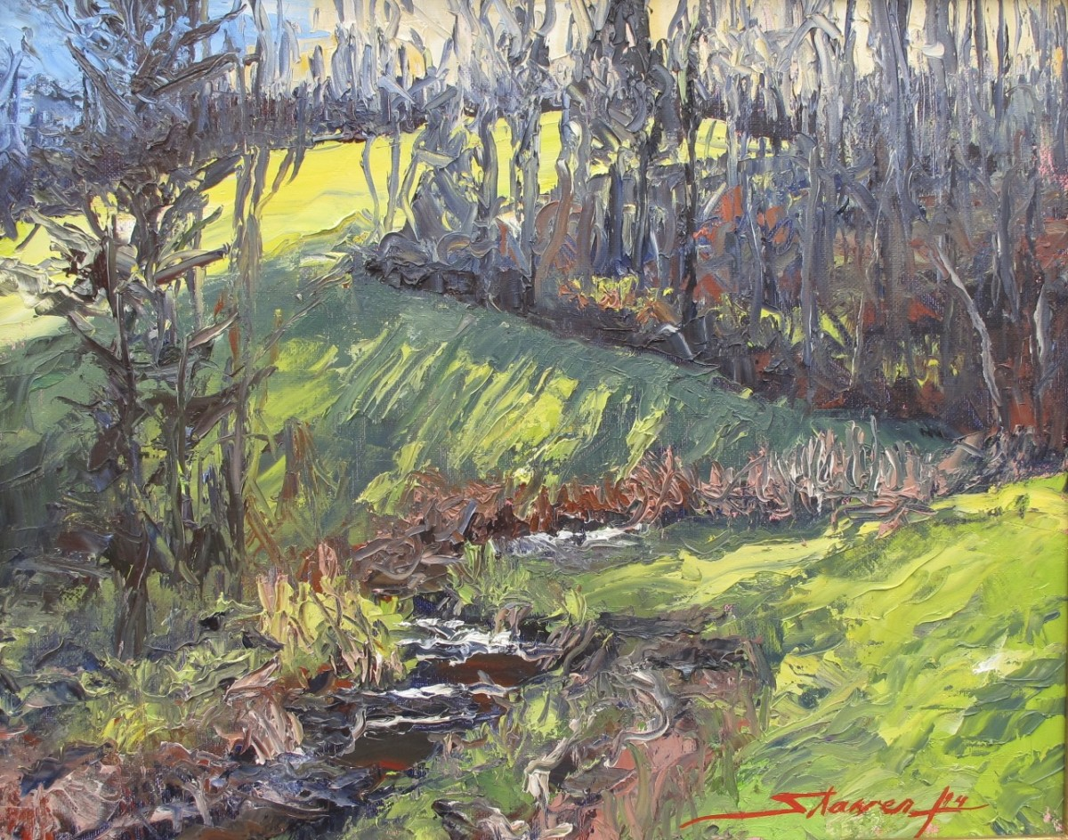 Spring Evening by Sharon Rusch Shaver