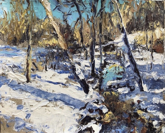 Brilliant Winter by Sharon Rusch Shaver