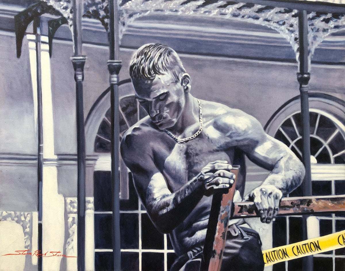 Working Man by Sharon Rusch Shaver