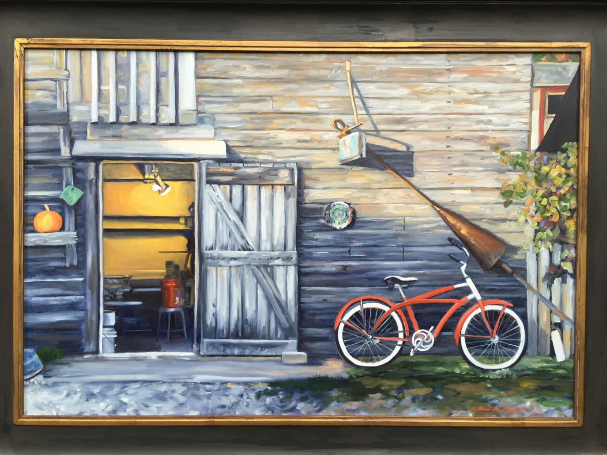 Afternoon Ride by Sharon Rusch Shaver