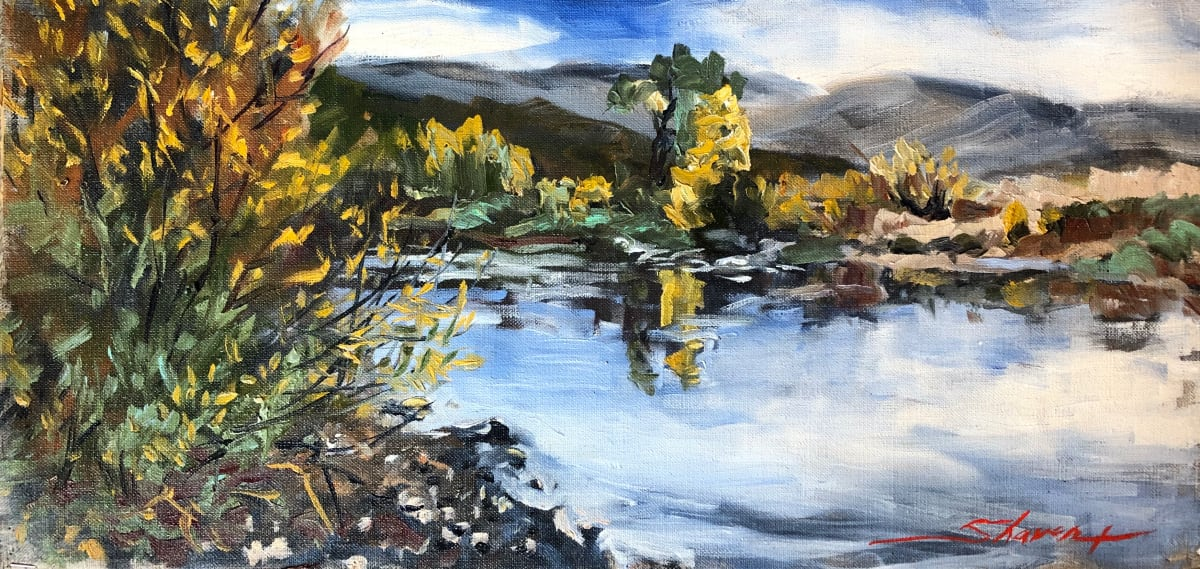 """Plein Yampa Fall"" by Sharon Rusch Shaver"