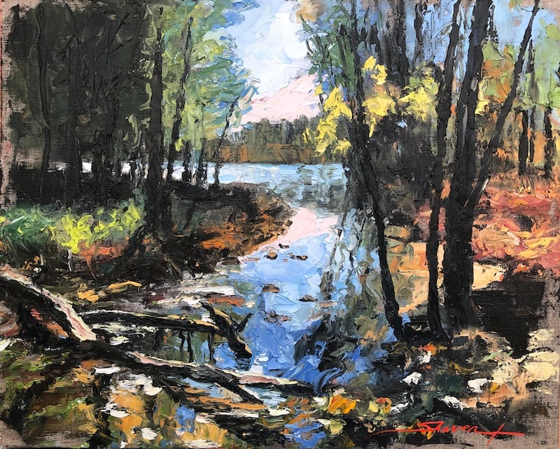 Plein Beauty in Fall by Sharon Rusch Shaver