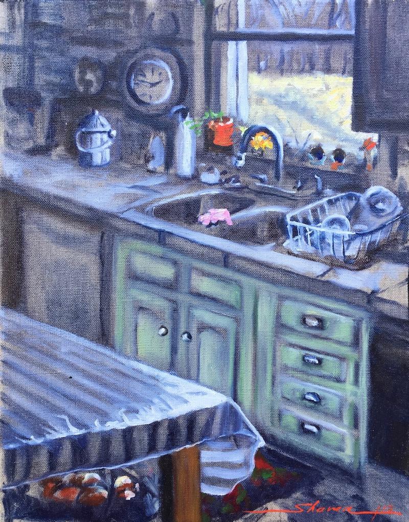 Jan's Kitchen by Sharon Rusch Shaver