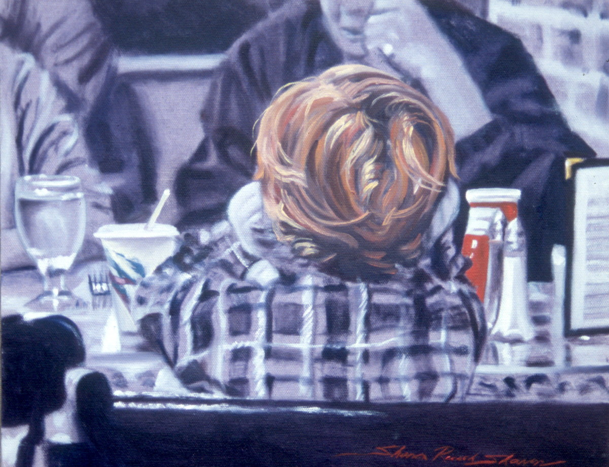 Red Head Boy by Sharon Rusch Shaver