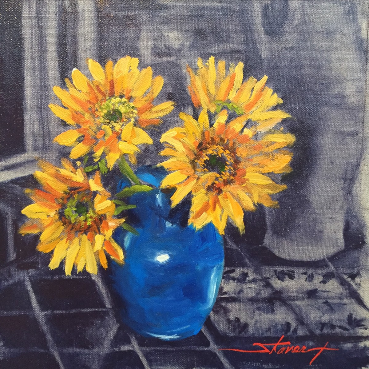 Sunflowers by Sharon Rusch Shaver