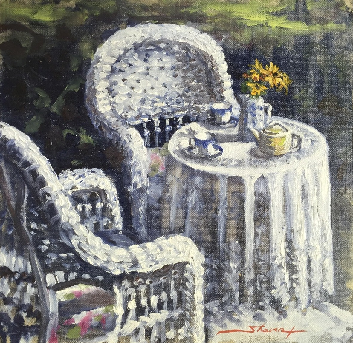 Tea for Two by Sharon Rusch Shaver