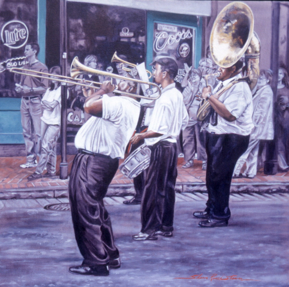 The Band by Sharon Rusch Shaver