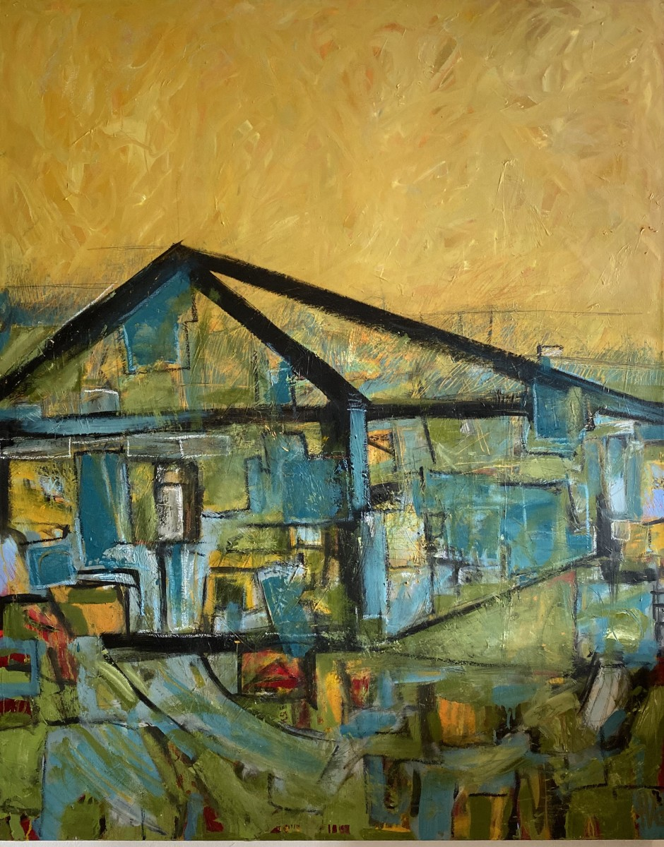 Glass House by Theresa Vandenberg Donche