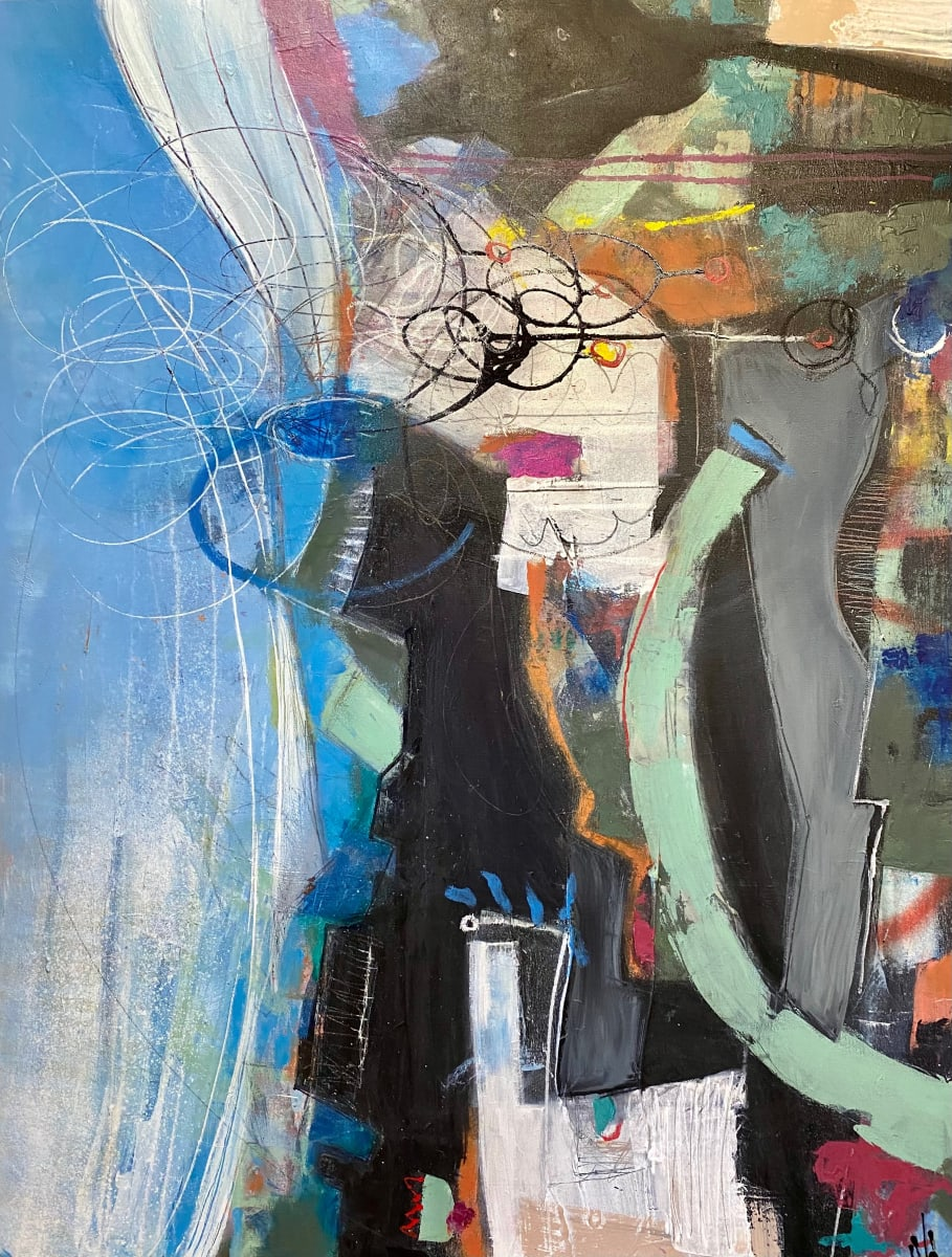 Unfurling by Theresa Vandenberg Donche