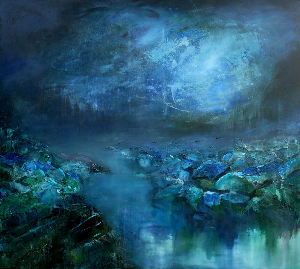 Leave me the darkness and the stillness by Sarah Jane Brown