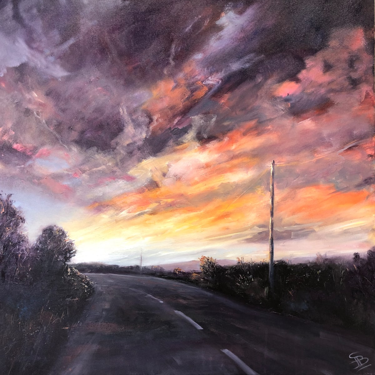 Heading West by Sarah Jane Brown