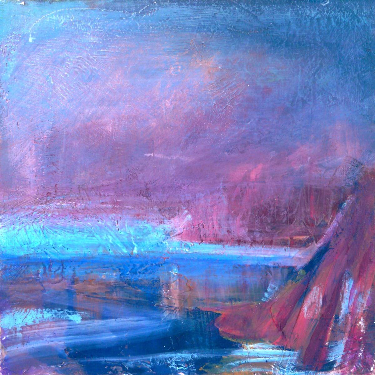 I felt the colours of Caerfai by Sarah Jane Brown