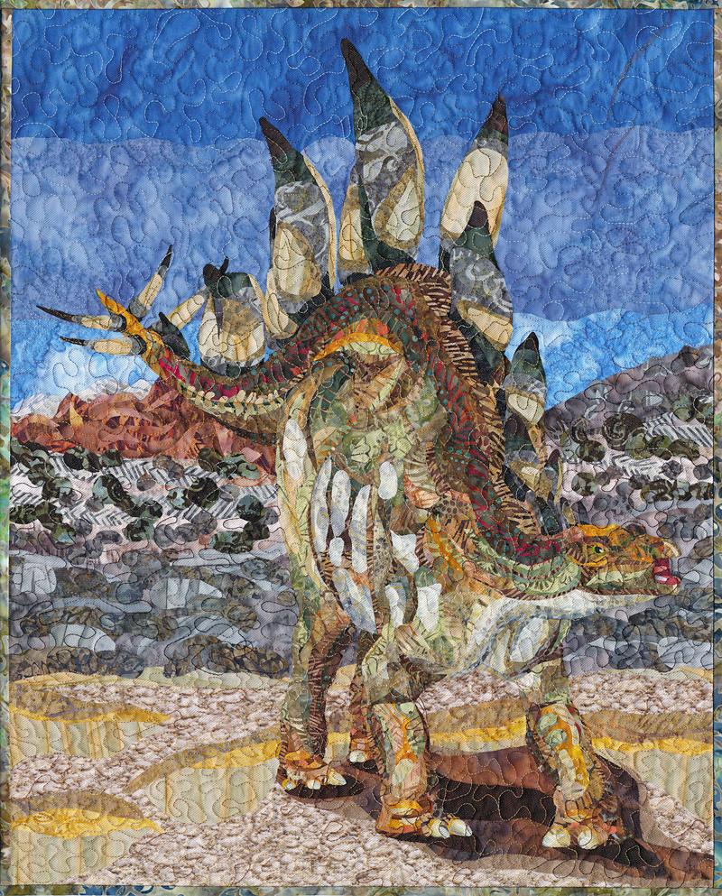 Stegosaur by Lonetta Avelar